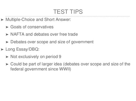 Free Trade Debate Essay by Apush Review Key Concept 9 1 Revised Edition