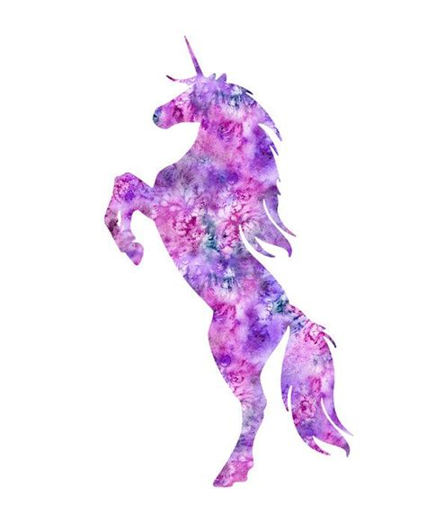 watercolor tattoo unicorn unicorn print unicorn watercolor unicorn by
