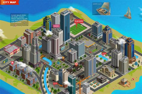 how to make 3d interactive map 3d city and map generator by designhatti graphicriver