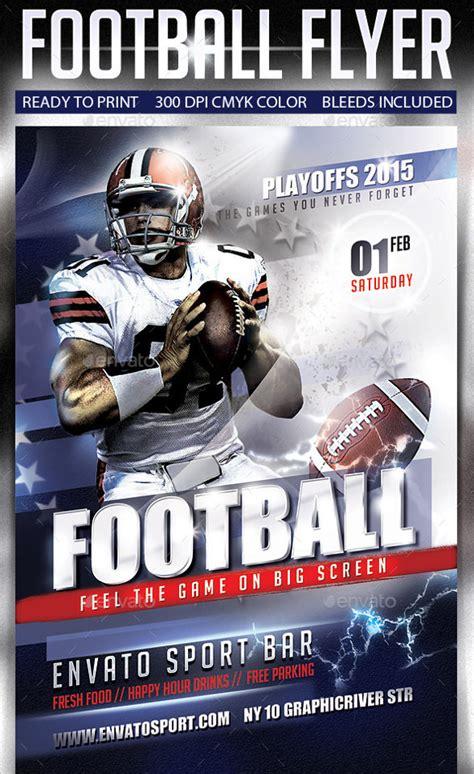 spectacular football flyer templates  eps psd