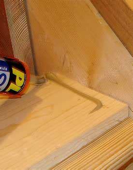 Hardwood Stair Treads & Risers   Installation