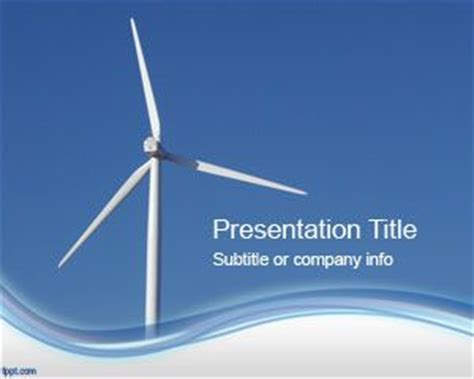 powerpoint themes wind energy wind energy powerpoint template