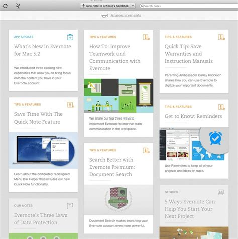 evernote pattern library 17 best images about card ui best practices on