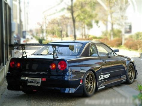 nissan skyline r34 modified modified nissan skyline gtr r34 for sale car