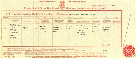 Uk Birth Record Michael And