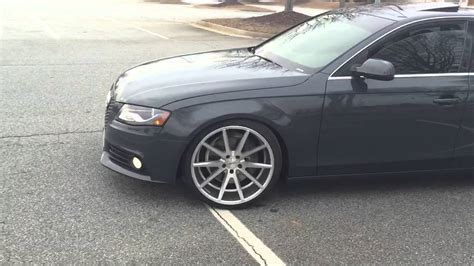 Audi A4 b8 Vossen wheels @nolackinautosociety YouTube