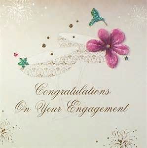 Congrats Engagement Card Engagement Congratulations Greetings Quotes Quotesgram