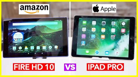 Amazon Giveaway Review - new amazon fire hd 10 tablet review ipad pro vs fire hd