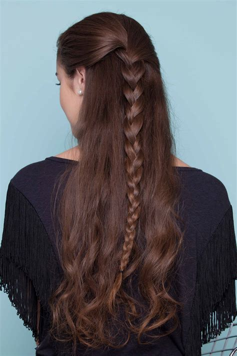 hairstyles with regular braids easy braids for long hair 20 looks to up your everyday game
