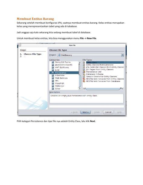 membuat aplikasi java web sederhana membuat aplikasi java web enterprise sederhana