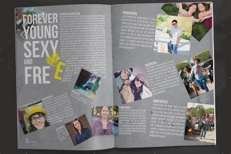 6 Creative Business Yearbook Templates To Build The Beautiful Yearbook Company Yearbook Template