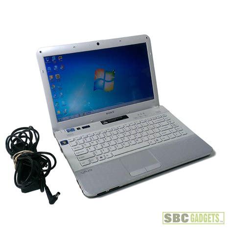 Laptop Sony I5 Ram 4gb sony vaio 14 quot white laptop pcg 61a12l i5 2 3ghz 4gb
