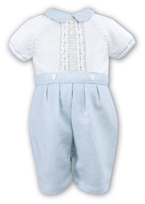 Sweater Knit Babyteri White Stripe louise baby boys blue striped white sweater knit button on suit
