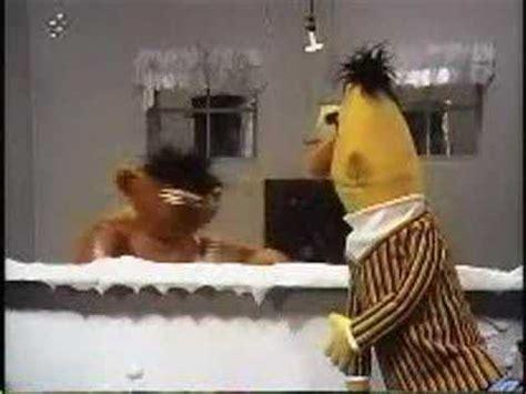 ernie in the bathtub sesame street ernie and bert s debut youtube