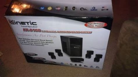 kinetic ka 8100 surround sound system for sale
