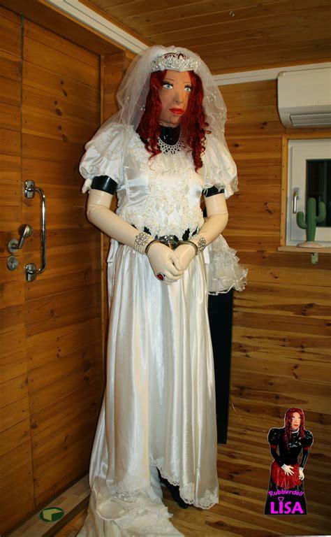 forced womanhood wedding forced feminization wedding bride in handcuffs a photo