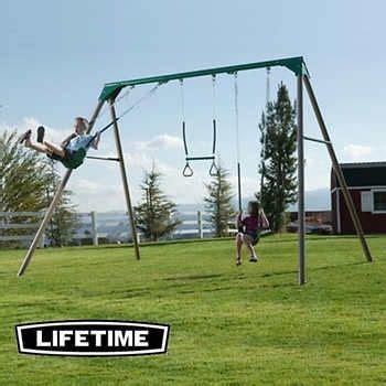 lifetime swing set sale best 25 metal swing sets ideas on pinterest plastic