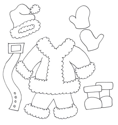 santa coloring page for preschoolers christmas coloring pages santa suit de feyter http