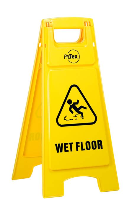 Sign Floor by Warning Sign Clipart Best