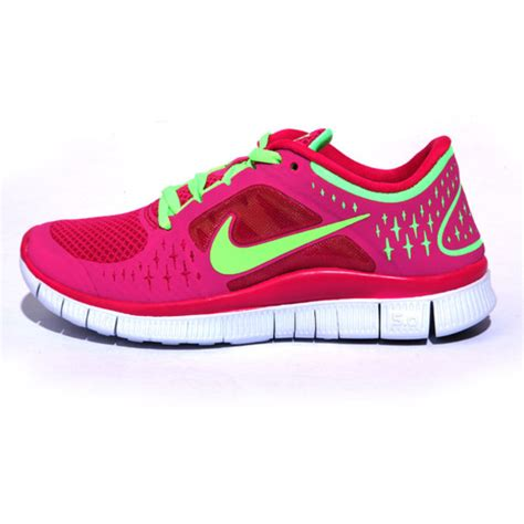 nike pink running shoes womens shoes nike free run 5 pink green running