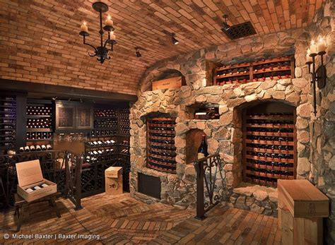 wine cellar humidor entertainment bar wall