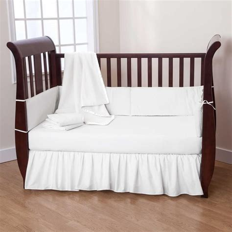White Toddler Bedding Set White Baby Bedding Crib Sets Home Furniture Design