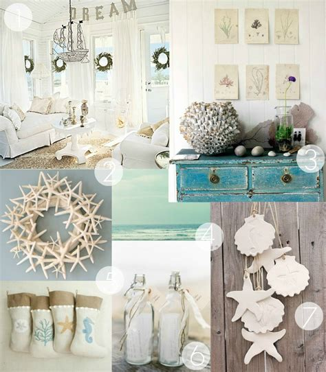 beach inspired home decor forever lovely design a coastal christmas