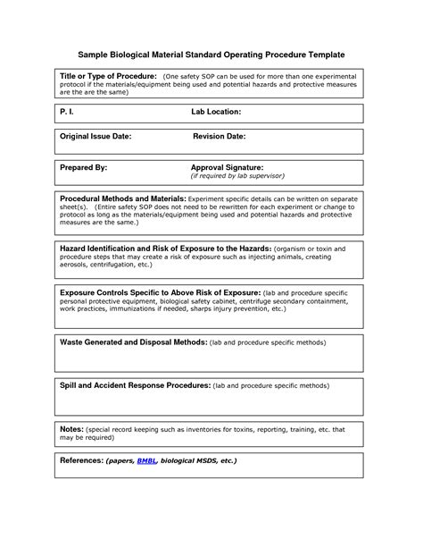 warehouse standard operating procedures template invitation warehouse futureclim info