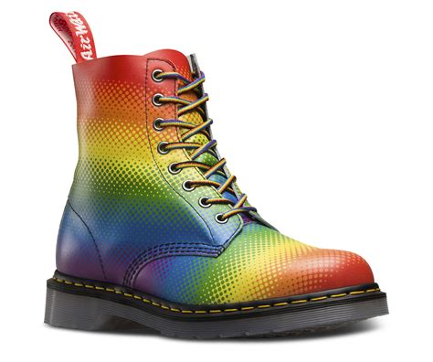 Rainbow Schuhe Spitze by Rainbow Pride 1460 Pascal Official Dr Martens Store Uk
