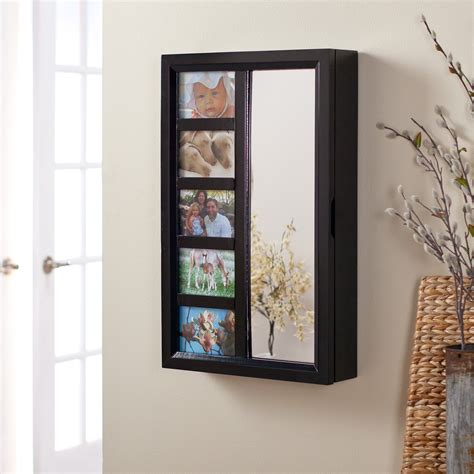 small jewelry armoire small wall mount jewelry armoire eastsacflorist home and