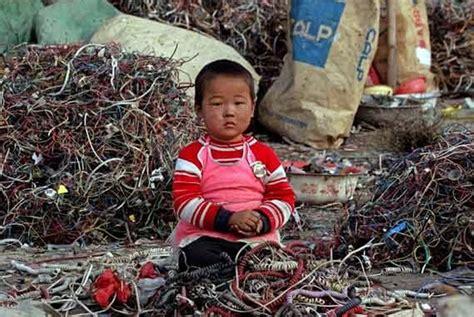 children electronic waste china kids forced into garbage sorting in jordan green prophet