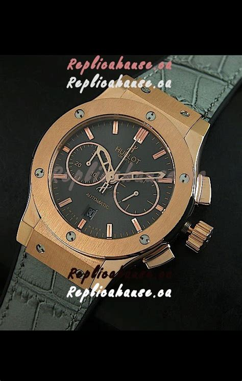 Hublot Vendome Fusion Rosegold Grey hublot big classic fusion swiss replica gold in grey shipping from canada