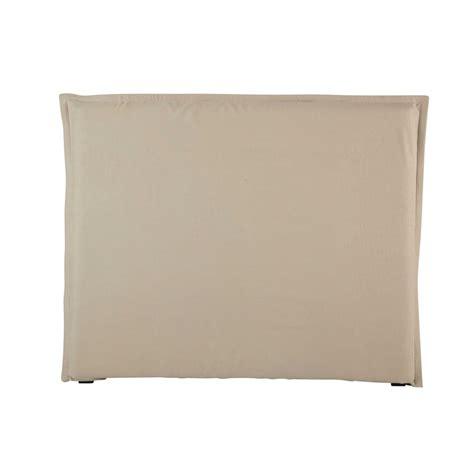 kopfteilbezug bett bett kopfteilbezug 140 cm aus grobem leinen morph 233 e
