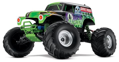 rc trucks grave digger grave digger truck 2 4 rtr in rc trucks