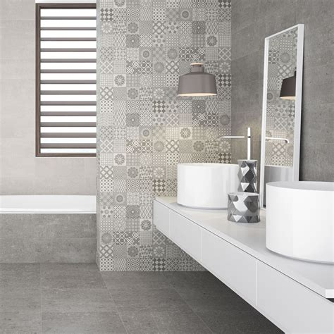 Patchwork Wall Tiles - mineral patchwork wall tiles oppidan effect