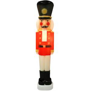 40 inch lighted plastic soldier nutcracker lighted