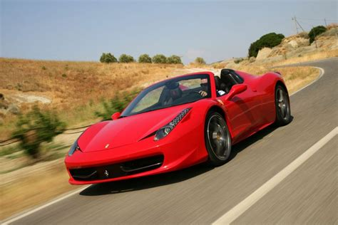 ferrari  italia spider review top speed