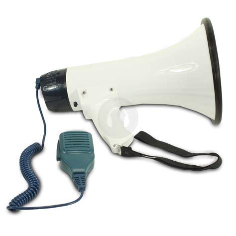 Speaker Pistol By Zsha Shop portable handheld megaphone hailer pistol grip loud