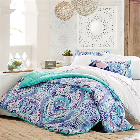pbteen comforters kaleidoscope comforter sham pbteen
