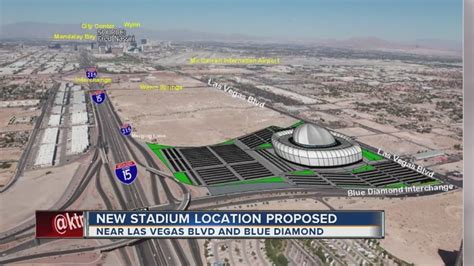New possible Raiders stadium location suggested in Las