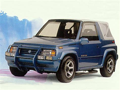 Suzuki Sidekick 1994 1994 Suzuki Sidekick Overview Cars