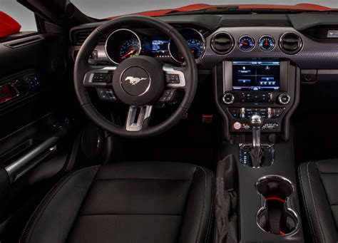 inside mustang 2019 ford mustang redesign interior specs and price