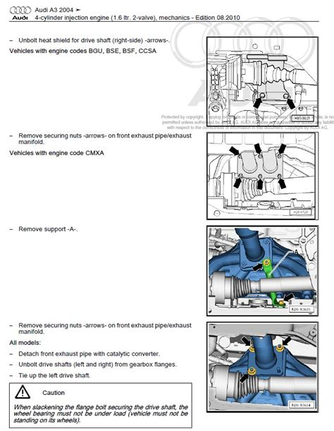 audi a3 s3 2003 2008 repair manual factory manual