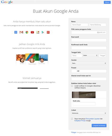 langkah membuat akun email gmail oke pos langkah langkah membuat akun di gmail