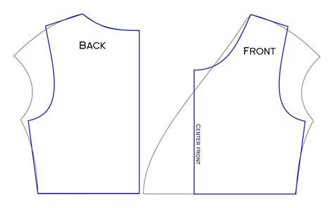 html basic pattern the jocole blog crossover tunic sleeve modification