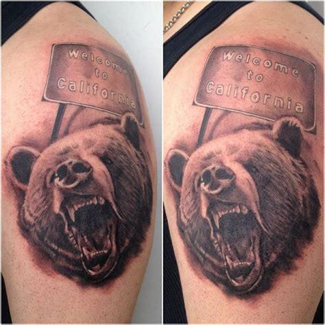 california bear tattoo california ink