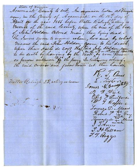 Accomack County Court Records You Seen The Vigilante Reconstruction Era Violence