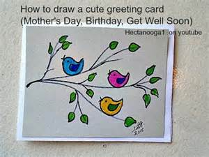 diy greeting card how to draw a s day card birthday card get well soon card 3 min