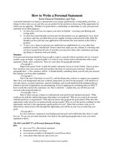 How To Write A Personal Statement For A Resume by Best Phd Personal Statement Sle