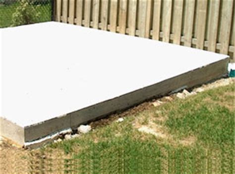 Concrete Pad For Shed Cost by Custom Pool Sheds Duroshed